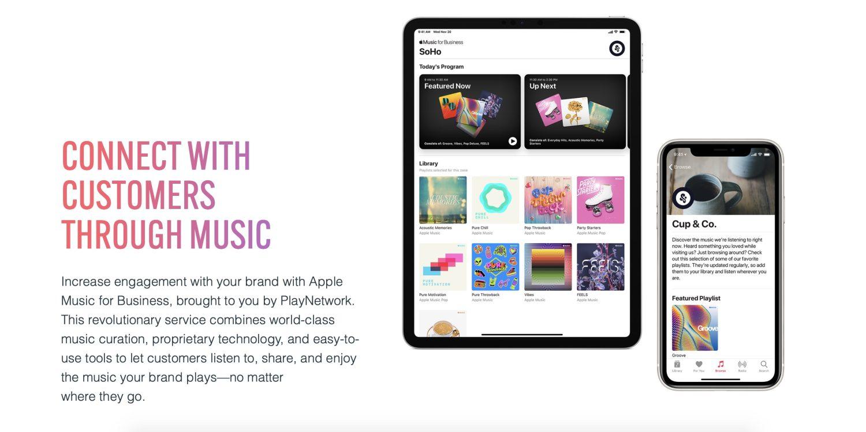 苹果发布「商业版」Apple Music,为零售店铺提供正版音乐