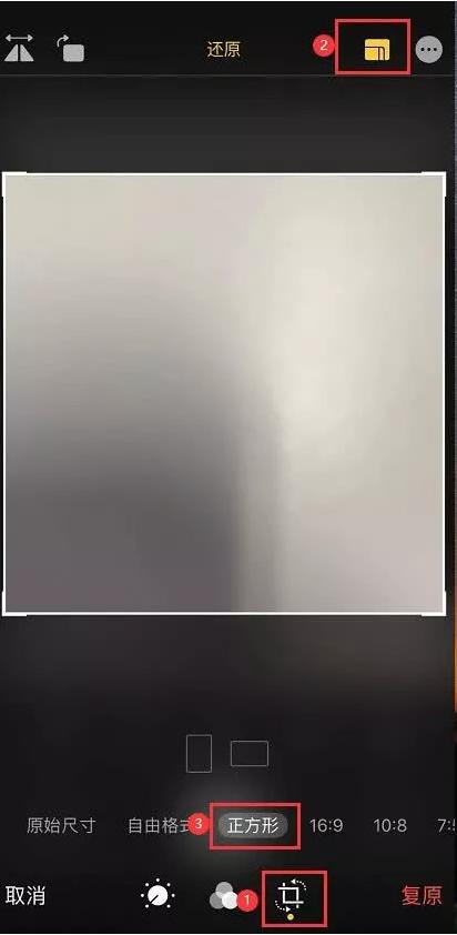 如何使用iPhone 11拍摄出正方形的照片?