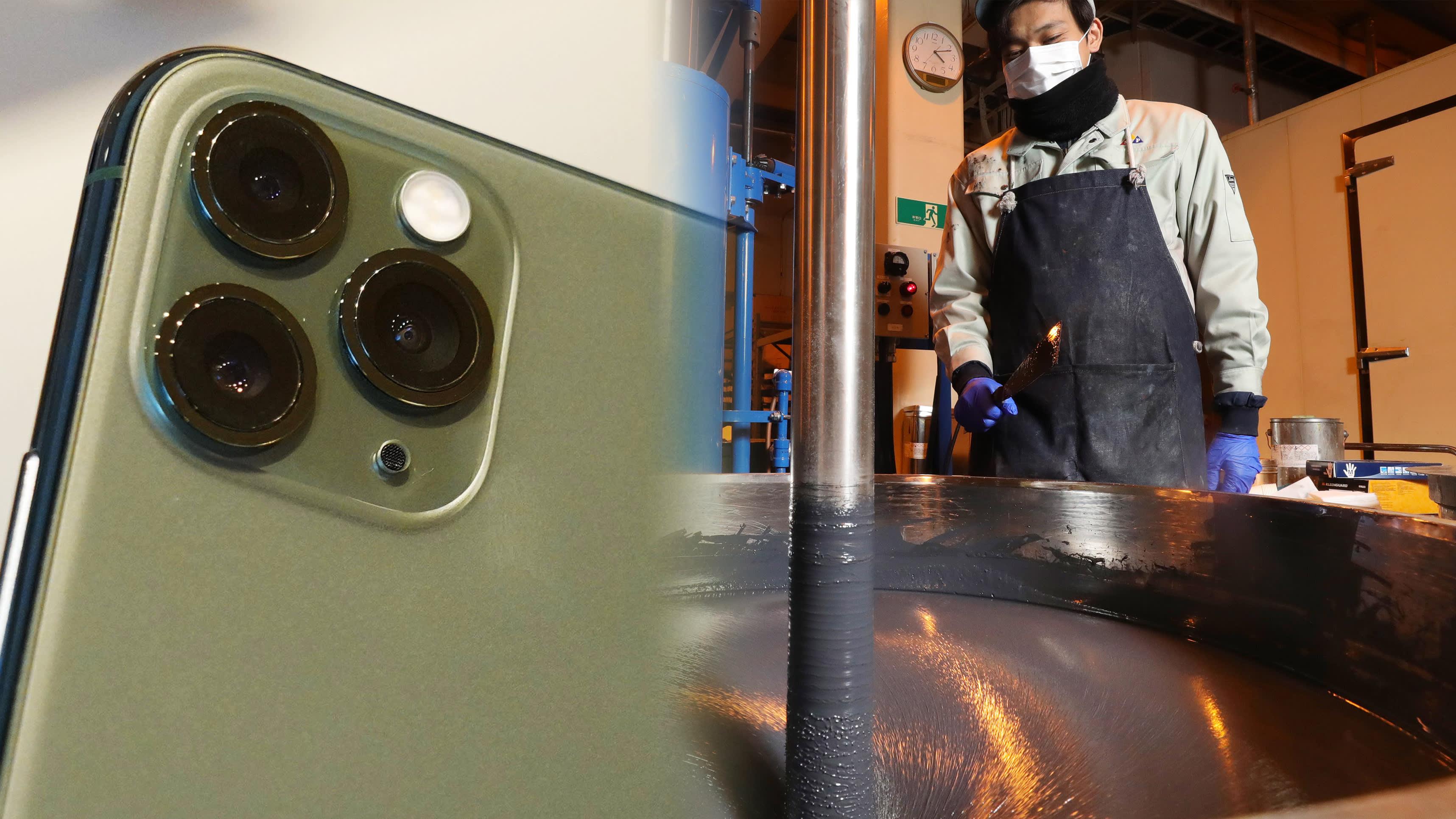 iPhone 11 Pro「暗夜绿」配色于日本精工油墨