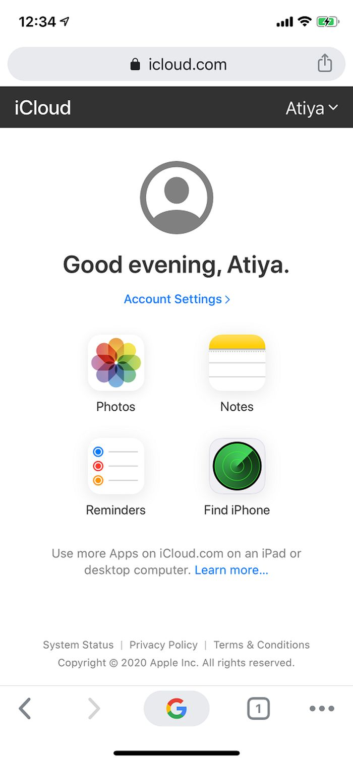 Android 和 iOS 原生浏览器现已支持访问 iCloud 移动网站