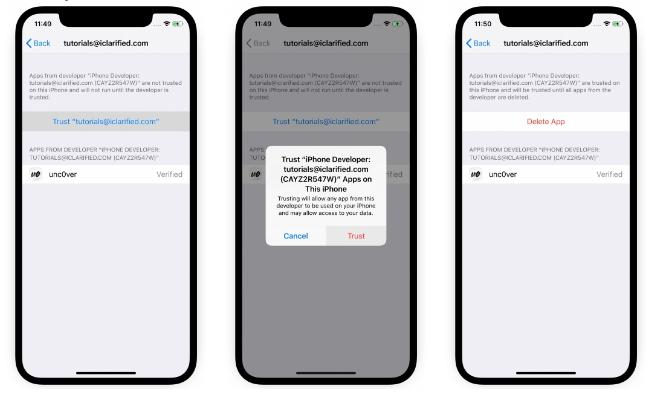 iPhone 11/XS系列iOS 13-13.3越狱教程
