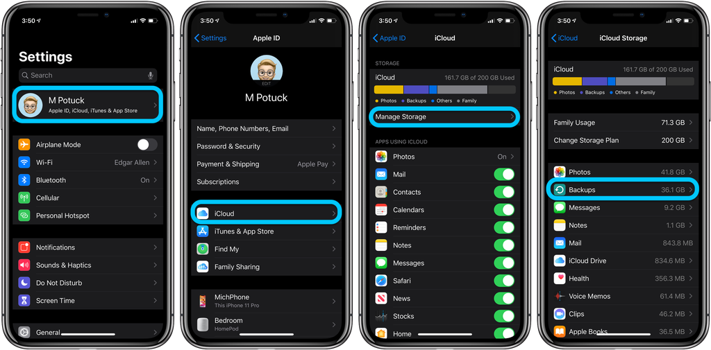 iCloud 教程:如何删除 iPhone 上的云端备份?