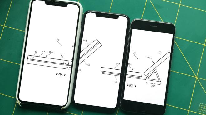 Apple 可折叠设备专利曝光,外观类似 Surface Duo