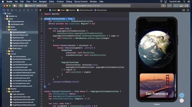 XCode 可能很快推出 iPhone 和 iPad 版本