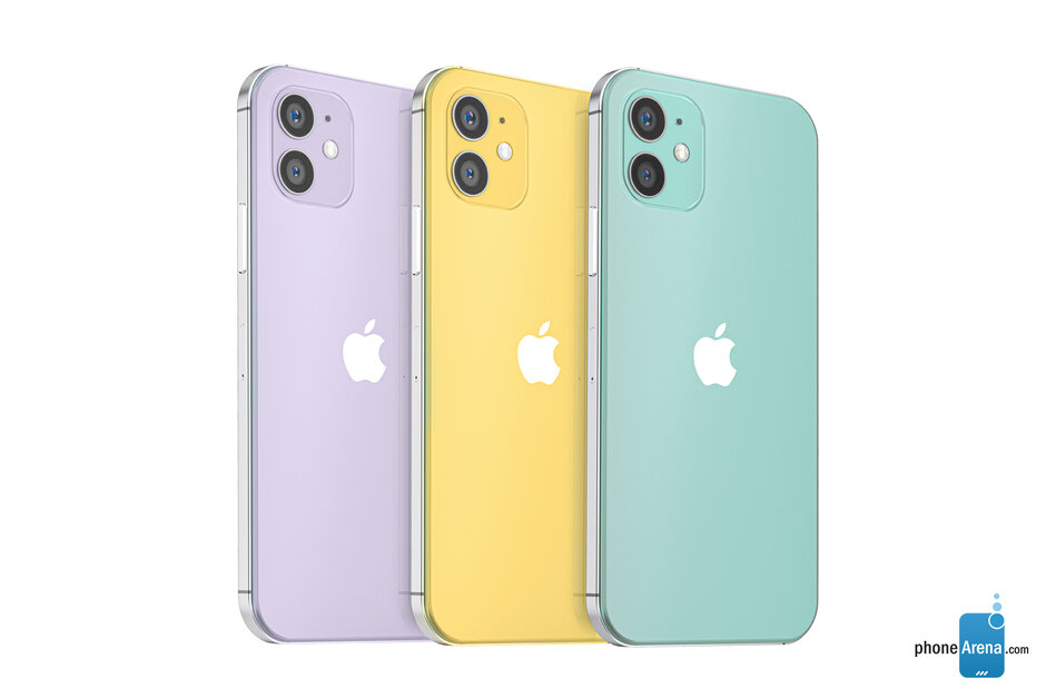 iPhone 12 概念渲染图,外观基本确定