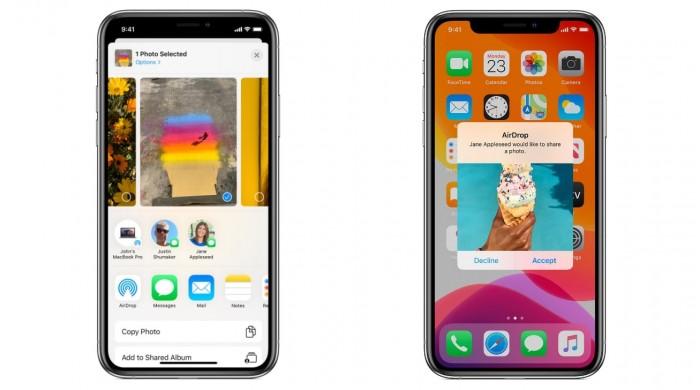未来 iPhone 之间的 AirDrop 可能使用激光快速传输大文件