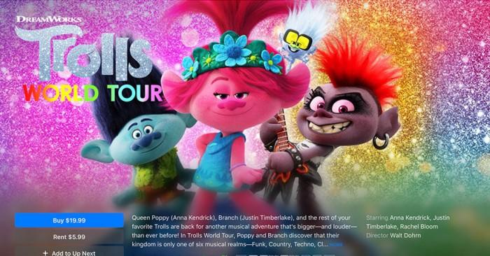 部分环球电影将在 AMC 影院首映 17 天后登陆 iTunes