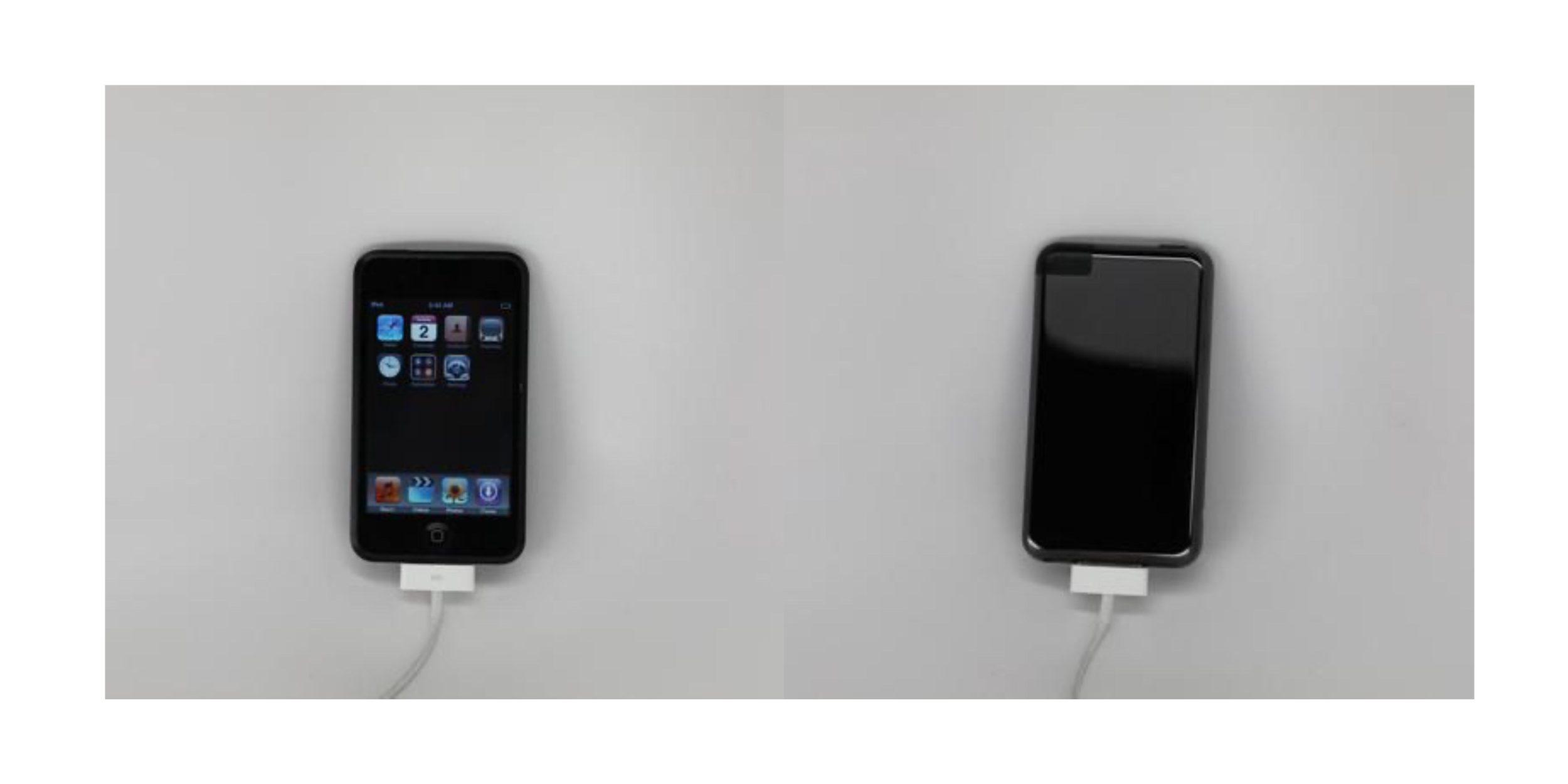 初代 iPod touch 原型机现身网络,采用黑色亮面设计