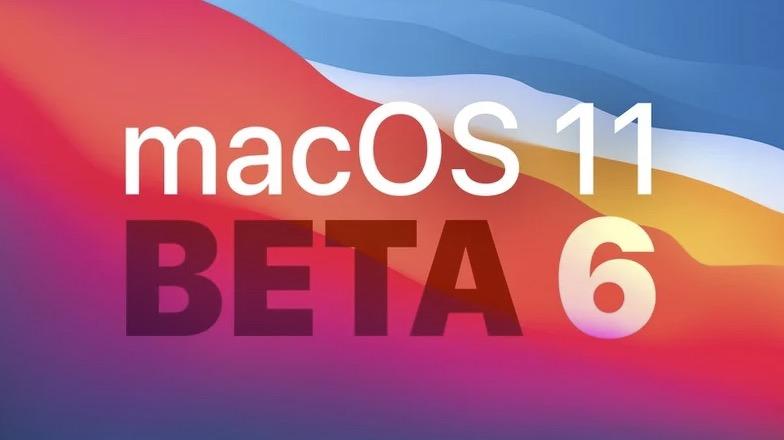 苹果发布了苹果电脑大苏尔开发者预览测试版6