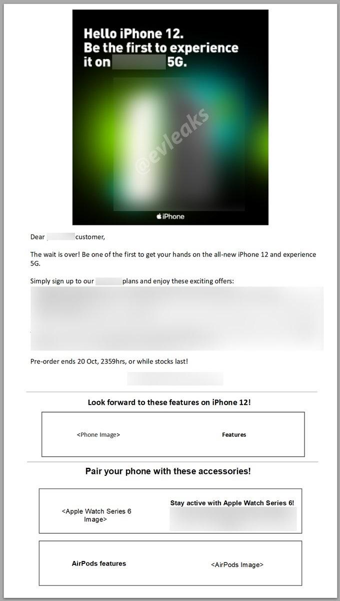 运营商内部邮件暗示苹果 iPhone 12 将于 10 月 13 日发布
