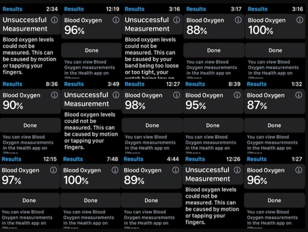 报告称 Apple Watch Series 6 血氧监测结果不准,无医疗用途